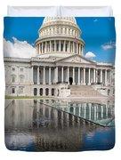 U S Capitol East Front Duvet Cover