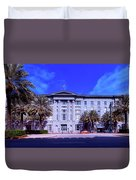 U S Custom House - New Orleans Duvet Cover