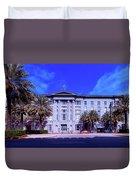 U S Custom House - New Orleans Duvet Cover