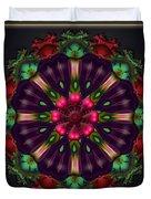 u028 Wholehearted Hibiscus Duvet Cover