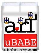 uBABE Art Wave Duvet Cover