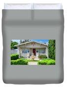 Suburban Arts And Crafts Hayward California 18 Duvet Cover