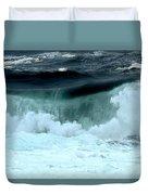 Ucluelet Breaking Waves Duvet Cover