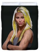 Ufc Fighter Paige Van Zant Duvet Cover