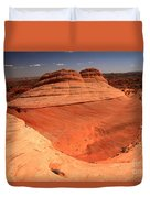 Ufo In Coyote Buttes Duvet Cover