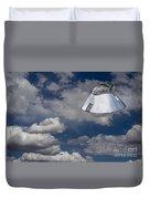 Ufo Sighting Duvet Cover