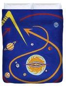 Ufo Universe Duvet Cover