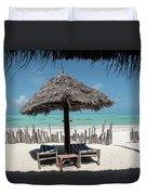 Uhuru Beach Lodge Zanzibar - Notkak Duvet Cover