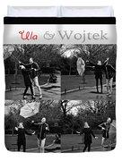 Ula And Wojtek Engagement 3 Duvet Cover