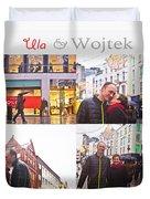 Ula And Wojtek Engagement 5 Duvet Cover