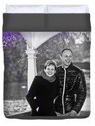 Ula And Wojtek Engagement 6 Duvet Cover