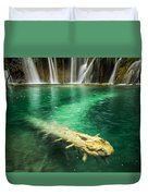 Ultimate Piece Of Mind Duvet Cover