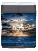 Ultra Blue Sunrise Duvet Cover