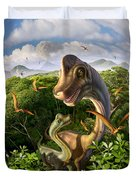 Ultrasaurus Duvet Cover