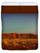Uluru/ayers Rock Duvet Cover