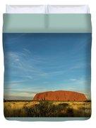 Uluru Sunset 01 Duvet Cover