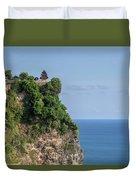 Uluwatu - Bali Duvet Cover