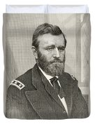 Ulysses S. Grant, 1822 To 1885. Union Duvet Cover