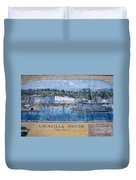 Umatilla House 1857 - 1930 Duvet Cover