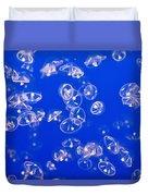 Umbrella Jellyfish Duvet Cover