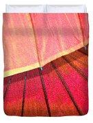Umbrella Sunrise Duvet Cover