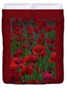 Umbria  Poppies 2 Duvet Cover