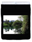 Umpqua River Duvet Cover