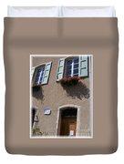 Un Maison Duvet Cover