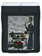 Unblessed R The Unmerciful Duvet Cover
