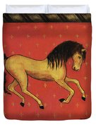 Unbridled ... From The Tapestry Series Duvet Cover