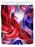 Unchained Abstract Duvet Cover