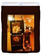 Unclad 2007 Exhibit Duvet Cover