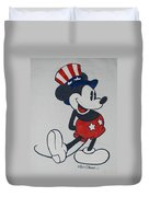 Uncle Mickey Duvet Cover