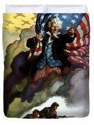 Uncle Sam - Buy War Bonds Duvet Cover