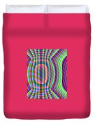 Uncollared Colors Three Duvet Cover