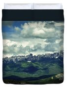 Uncompahgre Colorado Alpine Duvet Cover