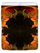 Undecided Bliss Abstract Healing Artwork By Omaste Witkowski Duvet Cover