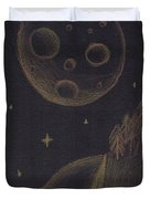 Under Alien Atars Duvet Cover
