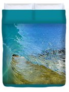 Under Breaking Wave Duvet Cover