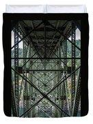 Under Deception Pass Bridge Duvet Cover