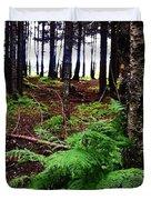 Under The Alaskan Trees Duvet Cover