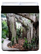 Under The Banyan Tree Duvet Cover