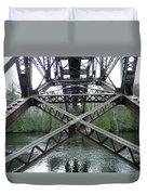 Under The Bridge Duvet Cover