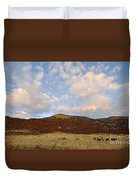 Under The Colorado Sky Duvet Cover