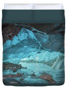 Under The Glacier Duvet Cover