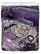 Under The Hood 66 Impala_1b Duvet Cover