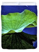 Under The Lily Pad Duvet Cover