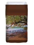 Under The Mangroves Duvet Cover