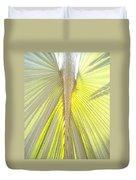 Under The Palm I Gp Duvet Cover