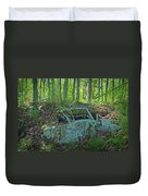 Under The Trail Duvet Cover